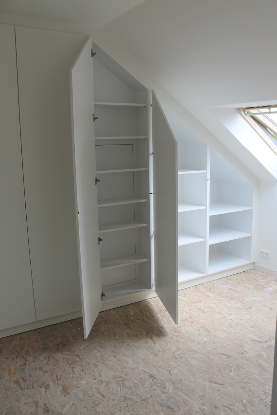 Kastenwand Keuken Inbouwen : Afbeelding 3 van project 2 over Schrijnwerker Stijn Janssens